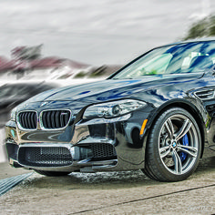 Now starring the beautifully refined BMW, live from your driveway.