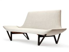 Sofa By Edvard And Tove Kindt-Larsen | From a unique collection of antique and modern settees at http://www.1stdibs.com/furniture/seating/settees/