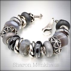 Graphite and Silver By Sharon Menkhaus