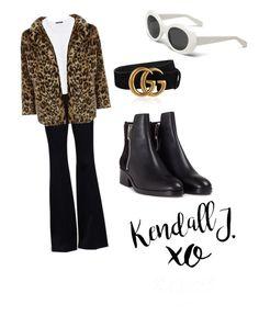 """""""How to be Kendall Jenner!"""" by indahif on Polyvore featuring xO Design, Gucci, Alexander McQueen, Violeta by Mango, New Look and 3.1 Phillip Lim"""