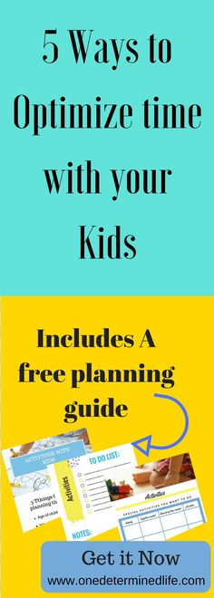 Having quality time with children is hard. There are so many things to consider before you can plan a special day. Click to get your free guide