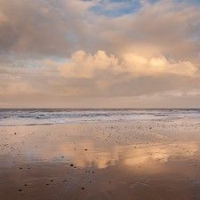 Clouds - Danish coast, Blokhus By Foto Factrory - Foto kunst til folket!
