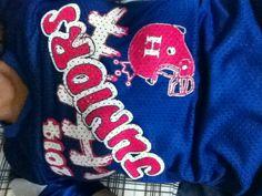 Henry county junior powder puff shirt School Fun, School Life, High School, Sports Clubs, Powder Puff, Personalized T Shirts, Football Shirts, Cute Shirts, Christmas Sweaters