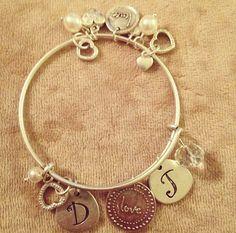 Sentimental bracelet with Keep It Personal charms. #premierdesigns