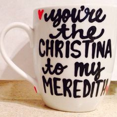 Grey's Anatomy You're the Meredith Christina by PickMeCups