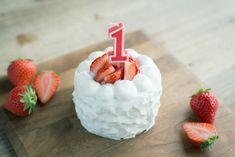手作りスマッシュケーキに1歳のろうそくをさす Baby Food Recipes, Birthday Cake, Cooking, Meet, Recipes For Baby Food, Kitchen, Birthday Cakes, Brewing, Cuisine
