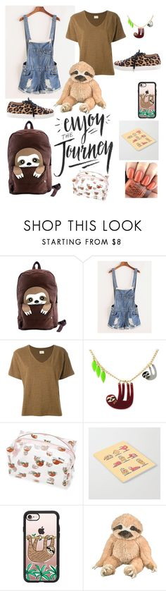 """""""Bet your not as lazy as me"""" by nataliemroller ❤ liked on Polyvore featuring Sleepyville Critters, Simon Miller, OPI, Forever 21, Casetify and Charlotte Olympia"""