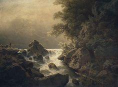 August Bedřich Piepenhagen~Charlotta Piepenhagenová - Motiv z Tyrol, (1879)