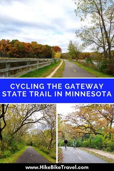 Cycling the Gateway State Trail: St. Paul to Stillwater, Minnesota