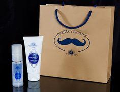 Para el cuidado de barbas y bigotes. Cosmética para hombres de #VirginiaNogués
