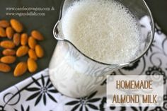 Homemade Unsweetened Almond Milk from Carrie on #Vegan   www.carrieonvegan.com.