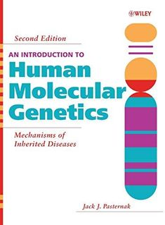 """""""An introduction to human molecular genetics : mechanisms of inherited diseases : ed."""" / Jack J. Hoboken [N. Molecular Genetics, Medicine Book, Open Book, Disorders, Clinic, Good Books, Cool Pictures, Science, Reading"""