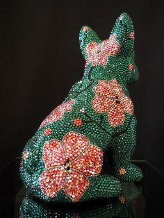 Dinosaur Stuffed Animal, Beads, Animals, Pink, Weaving, Tejidos, Handmade, Beading, Animales