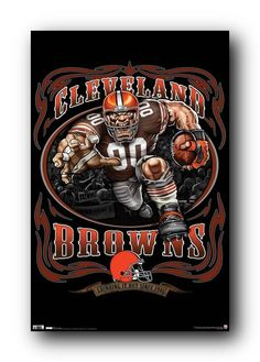 Image detail for -Cleveland Browns Mascot Poster