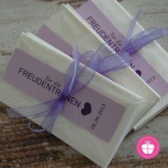 ♥ 50 Freudentränen-Taschentücher ♥ handgefertigt von ZuckerZauber BERLIN auf…