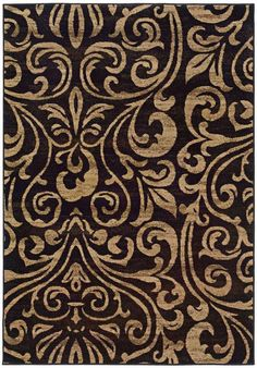 Oriental Weavers Emerson 2033C Brown Gold