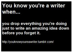 or scribbling them on the edge of what youre working on XD my drawing board paper has so many notes on it XD