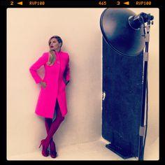 Enrico Coveri F/W 2013/2014 Campaign Backstage  Photo: Paolo Santambrogio  Model: Louise Von Celsing@Next  Make up: Luciano Chiarello@Atomo  Producer: Press 2