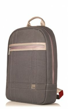 """Frago Grey 14"""" Laptop Backpack from KNOMO.   I bought my first Knomo in 2008. My second was gift which carried me through good times and bad. I have watched the brand mature, becoming an ardent fan."""