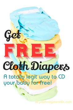 How to get FREE Cloth Diapers- a totally legitimate way to snag freebies. #clothdiapers | JellibeanJournals.com save money on babies, #SaveMoney #Money
