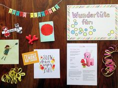morgenrosa: DIY: Wundertüte basteln - Geschenkidee für die beste Freundin
