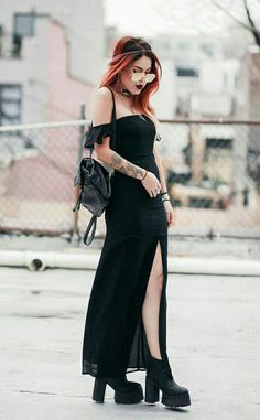 Rock Outfits, Edgy Outfits, Grunge Outfits, Cute Outfits, Fashion Outfits, Womens Fashion, Dark Fashion, Grunge Fashion, Gothic Fashion