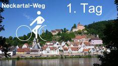 Neckartalradweg (Neckarradweg) 1. Tag