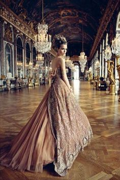 Patrick DeMarchelier | Christian Dior. Perhaps someday just for funsies we could dress up like this and go to a ball. Just because :) @Beth J Appelt