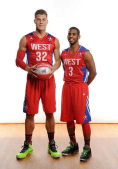 BG & CP3 ♥ NBA all star game 2013