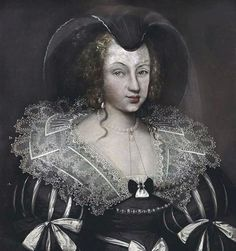Christine of France as Dowager Duchess of Savoy, c. 1637