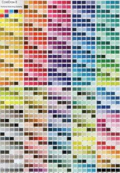 Free To Use Pantone Coated Colour Chart Easy Downloadable Pdf