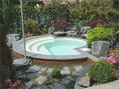 Small Pools For The Garden #garden #pools #small