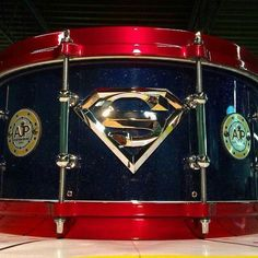 Superman drum. ❣Julianne McPeters❣ no pin limits