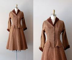 1950s dress suit / 50s Jonathan Logan suit / Corolle dress.  I wish I had a spare $225 hanging around.