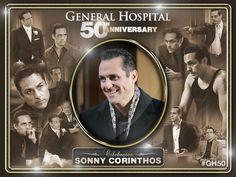 Dark eyes and dimples. General Hospital, Hospital Tv Shows, Soap Opera Stars, Soap Stars, Maurice Benard, Luke And Laura, I Gen, Best Bud, Music Tv