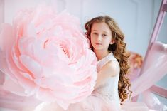 Giant Paper Peony - Birthday Photobooth with Paper Flower - Oversized Paper Flowe - Oversized Party