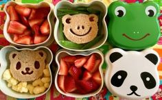 Bento #Lunch Boxes with matching Sandwiches