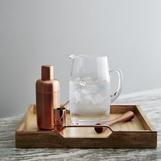 Since I am so in love with copper at the moment, here is another beautiful copper cocktail shaker and at only €31 it's a steal for a Christmas gift!!