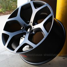 "20"" BMW x5 E70 E71 x6 Xdrive 214 Style Y Spoke Staggered Wheels Rims Black 4 New | eBay"