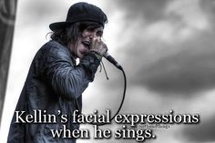 I catch myself doing the same facial expressions when I sing SWS!