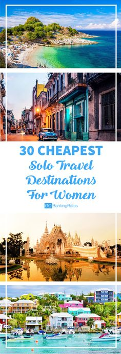 Solo travel can get expensive, so be sure to check out these 30 cheap destinations to save some money!
