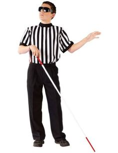 funworld blind referee boy halloween costumes clothing impulse