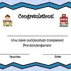 This freebie certificate template includes the following grade level:    Pre-Kindergarten  Kindergarten  First   Second...