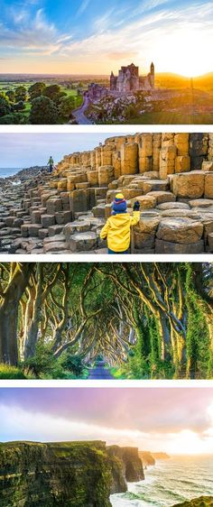 The best Ireland itinerary for first time visitors to the emerald isle. Discover this beautiful island as you road trip across Ireland. #ireland #travel #wanderlust #vacation #roadtrip Places To Travel, Travel Destinations, Travel Tips, Travel Articles, Budget Travel, Time Travel, Vacation Travel, Travel Goals, Travel Guides