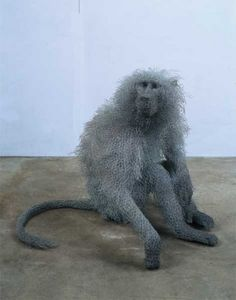 Kendra Haste has been obsessed with animals for most of her life. The UK artist is well known for her wire mesh animal sculptures