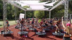 Fit and Jump -  H&M Sport Camp - agrykola  Dziękujemy za wspólny trening!  #workout #trening #fitanjump #jump #trampoline #sport #fitness #training #body #ciało #trampolina #girls #health #fun #zabawa #rozrywka