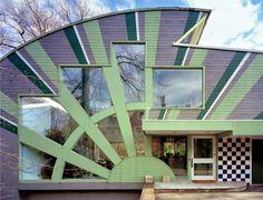 Arqueología del Futuro: 1979 House in Pittsburgh [Venturi Scott-Brown] HIPERGRÁFICA
