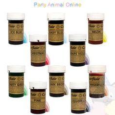 Petal Ruffle Tutorial | PartyAnimalOnline Ruffle Cake Tutorial, Pretty Wedding Cakes, Ombre Cake, Gel Food Coloring, Edible Food, Icing Recipe, Gel Color, Animal Party, Royal Icing