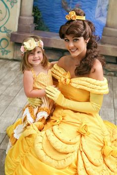 belle {from beauty & the beast} fall costume // little wellies by melisa