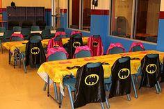 Bat capes party favors.